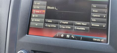 DAB Radio not working on Mk5 Mondeo on Sync2 - Ford Mondeo