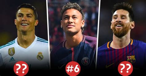 Best Football Player in the World in the 2017-18 Season