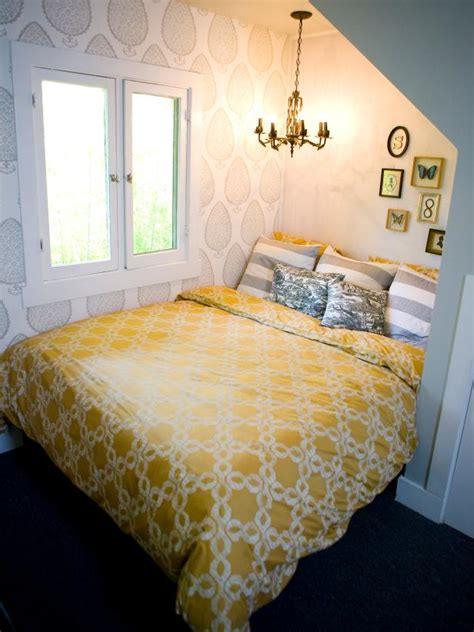 Shabby Chic Room With Bed Alcove and Chandelier | HGTV