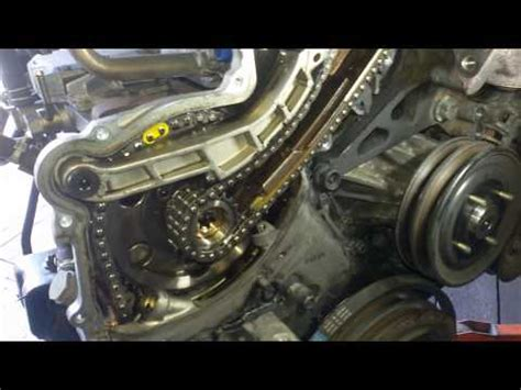How to check Nissan navara D22 timing chain strech - YouTube