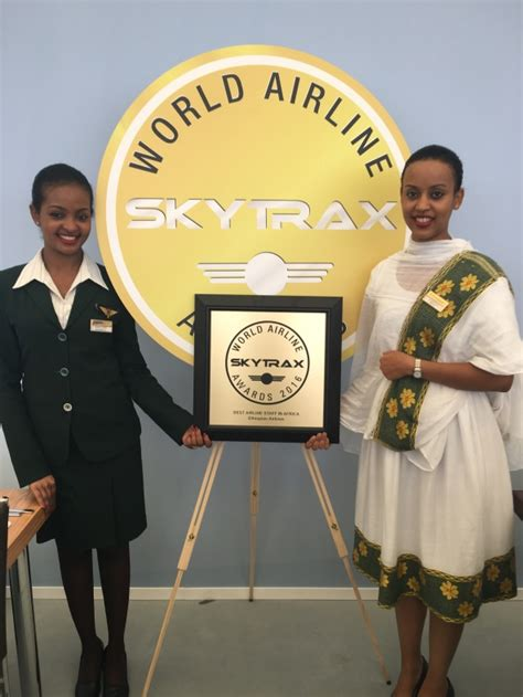 """Ethiopian wins SkyTrax World Airline Award for """"Best"""