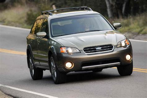 2006 Subaru Outback Review - Top Speed