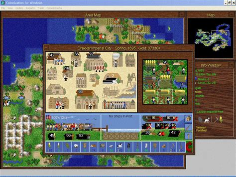 Colonization for Windows Download (1995 Strategy Game)