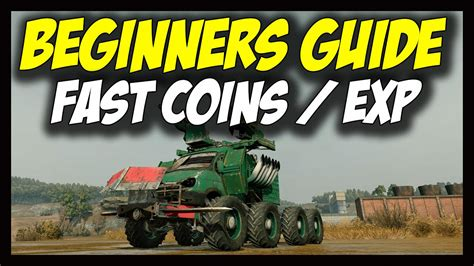 Crossout - Fast Coins/Credits and Fast Leveling/Experience