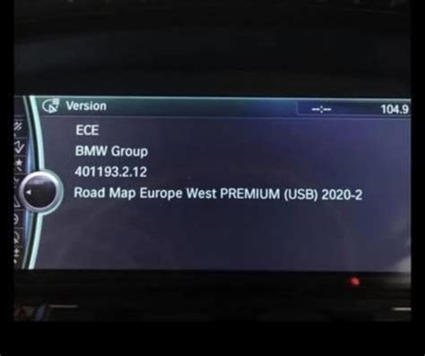 BMW Navi Update 2019 & 2020   Connected Drive