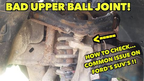 Upper Bad Ball Joints