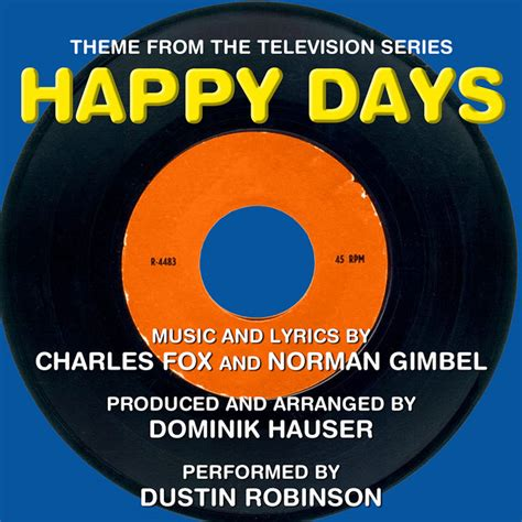 Happy Days - Theme Song, a song by Dominik Hauser on Spotify
