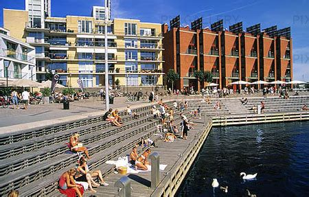 West Harbor, Malmö (PNPEL4):Rights-Managed Image   Stock