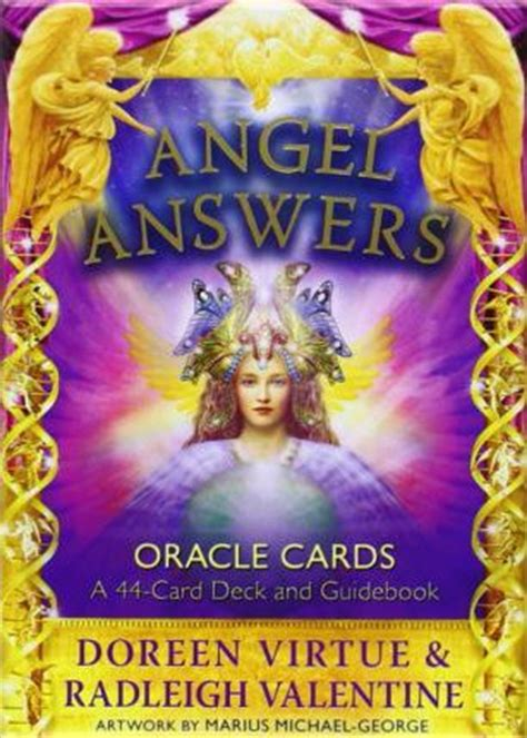 Angel Answers Oracle Cards : Radleigh Valentine