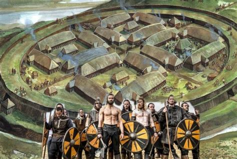 Great Viking Fortresses Built By King Harald Bluetooth