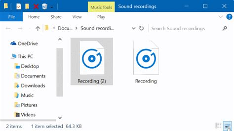 Where Does Voice Recorder App Save Files In Windows 10
