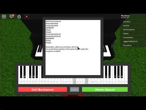 """How to play """"Little do you know"""" on ROBLOX Piano!