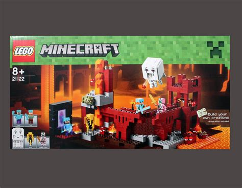 Bricklife   all about Lego   Minecraft The Nether Fortress
