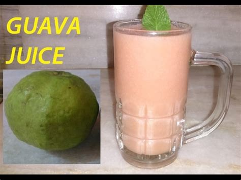 Guava Juice RECIPE   HOW to Make Tangy , Refreshing summer