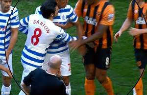 Joey Barton the villain after 'silly sending off' in Hull