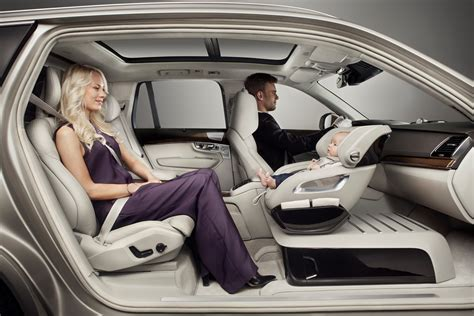 Volvo Cars adds a little luxury with Excellence Child Seat