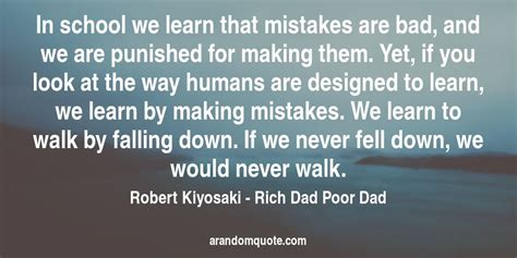 Best image quotes from Rich Dad Poor Dad book | A random quote
