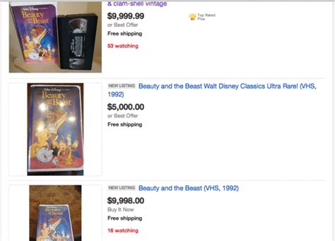 Are 'Black Diamond' Disney VHS Tapes Worth Thousands of