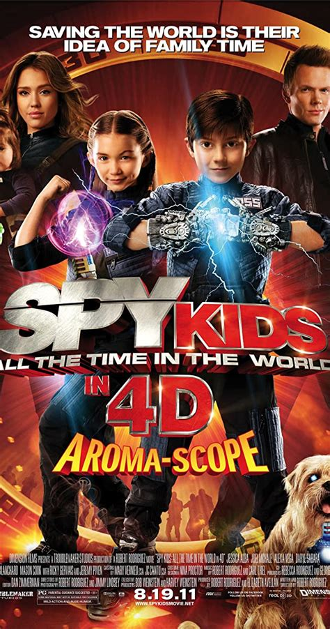 Spy Kids: All the Time in the World in 4D (2011) - IMDb