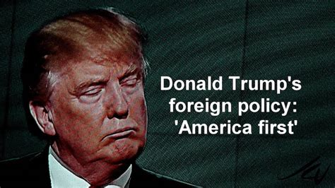 US Foreign Policy and Trump's Contradictions – Part 4