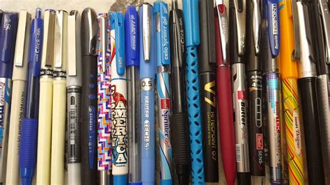 Best pens collection in hoshiarpur - YouTube