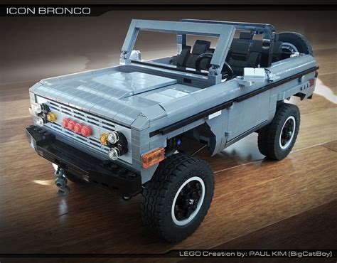Got Legos? Build Your Own Ford Bronco! - Ford-Trucks