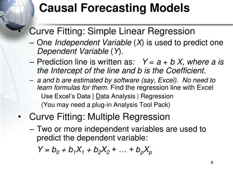 PPT - Forecasting/ Causal Model PowerPoint Presentation