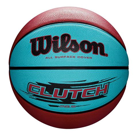 Wilson Clutch Basketball - Teal/Pink Size 6 at Toys R Us