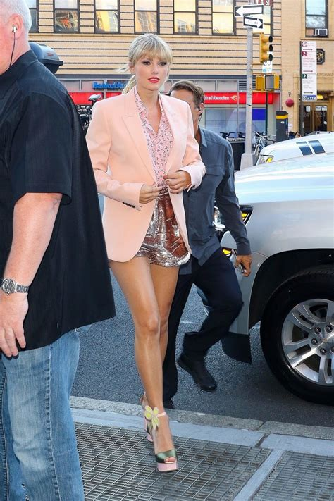 Taylor Swift Sexy Legs at Celebration in NYC (24 Pics) | #