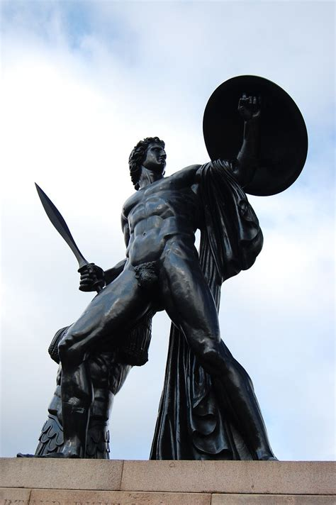 Achilles in Hyde Park | The bronze statue by Sir Richard