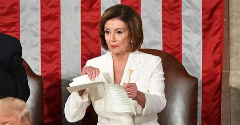 NEW LOW FOR PELOSI: Angry Nancy Rips Up Trump's State of
