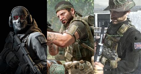Call Of Duty: Best Campaign Characters, Ranked | Game Rant