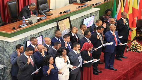 Ethiopian PM Abiy Ahmed names new cabinet, urges