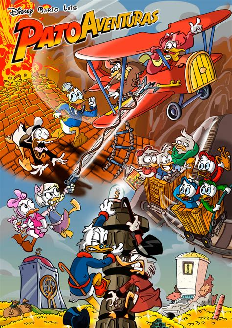 Ducktales: Co-drawing by mariods on DeviantArt