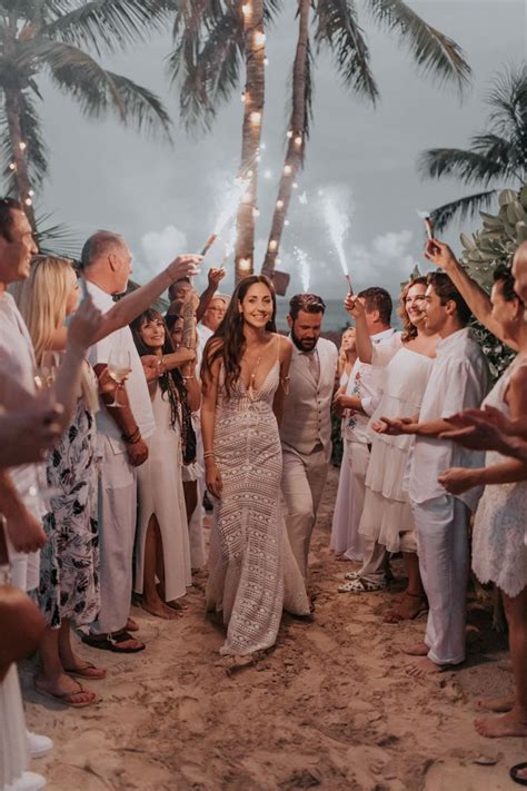 This Hip Hotel Tulum Wedding Included a Traditional Shaman
