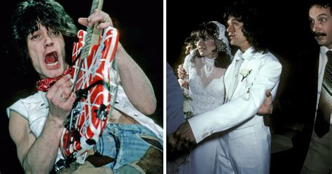 Van Halen Was Married For 27 Years, But After His Wedding