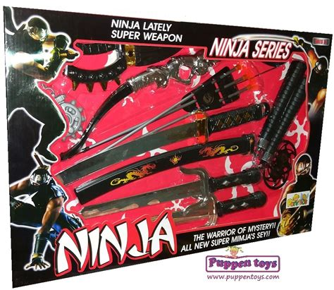 Ninja Weapons Game Set CHENGFENG - Juguetes Puppen Toys