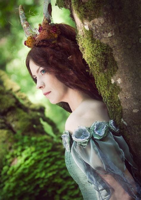 forest maiden, fantasy, medieval love the sleeves make