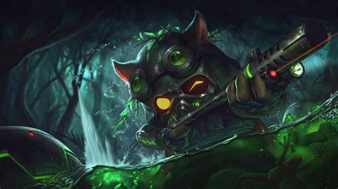 Omega Squad Teemo - League of Legends Wallpapers