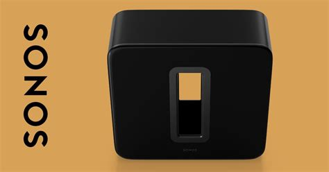 Sub: The World's Greatest Wireless Subwoofer   Sonos