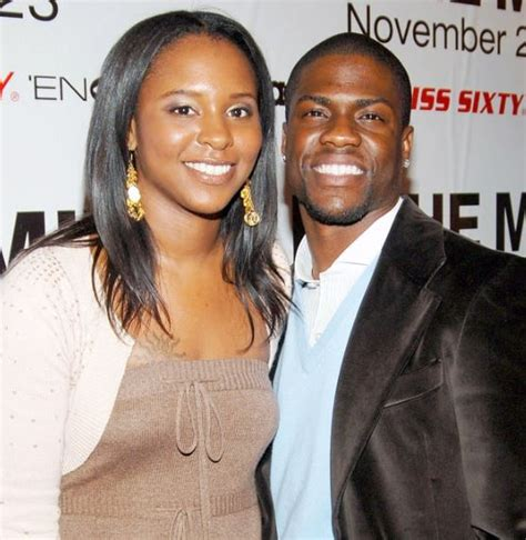 Kevin Hart with former wife Torrei Hart image