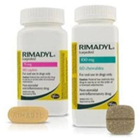 Rimadyl Chewable Tablets & Caplets for Arthritis in Dogs