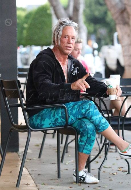 Mickey Rourke: Hard to believe that once upon a time he