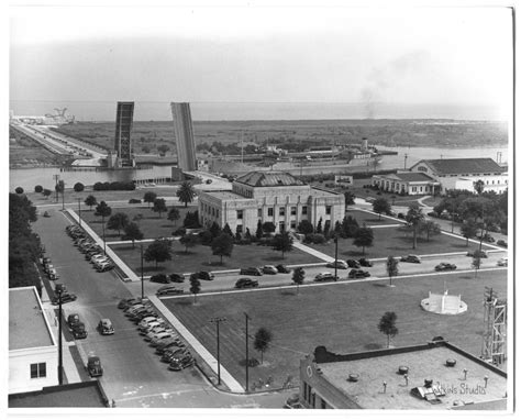 [Photograph of Aerial View of Port Arthur, 1945] - Side 1