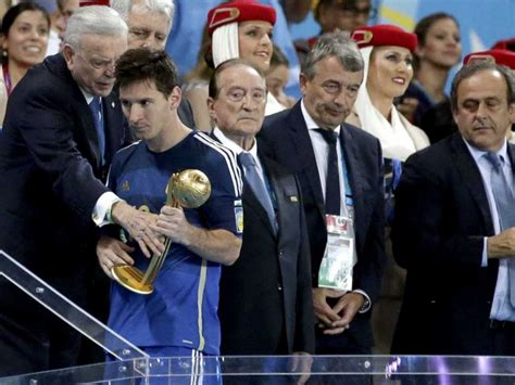 Did Lionel Messi really deserve to win the Golden Ball award?
