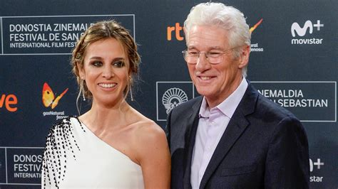 Richard Gere's Wife Alejandra Pregnant With the Couple's
