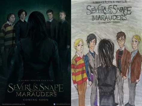 DNL • FAN ART for Severus Snape and the Marauders