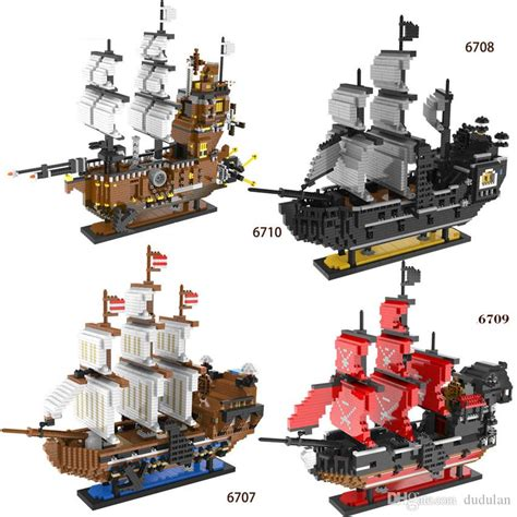 2019 3000+Pcs Pirates Series The Imperial Flagship Model
