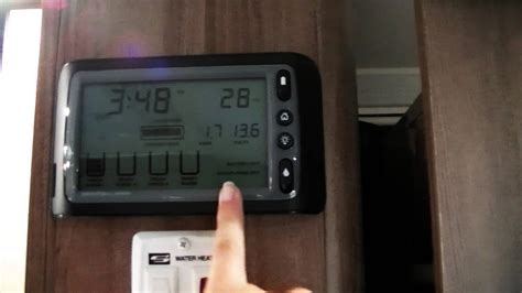 How to use the Drifter Control Panel on a Jayco RV - YouTube