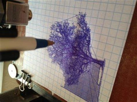 3D to 2D: Using a 3D Printer to Draw in 2D   3DPrint